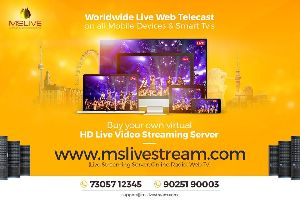 Live webcasting CDN services