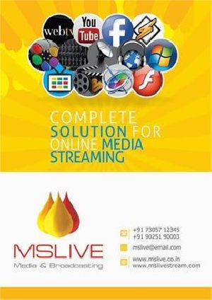 Online Live Video Streaming Live Webcasting Services