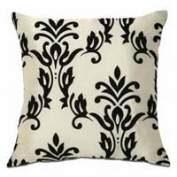 Blossom Flocked Cushion Covers