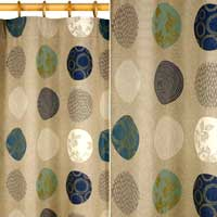Silk Printed Curtains