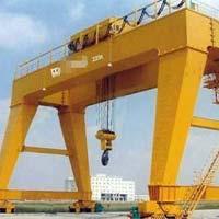 Heavy Duty Double Trolley Gantry Crane with Hook