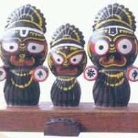 Coconut Shell Jagannath Statue