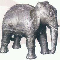 Dhokra Elephant Statue