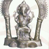 Dhokra Ganesh Statue