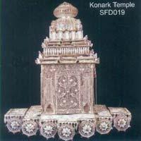 Silver Konark Temple