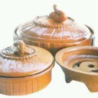 Terracotta Coil Holder