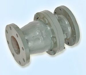 Rubber Lined Vertical Flap Valve