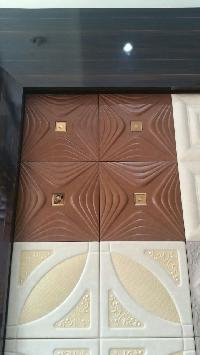 faux leather wall panel