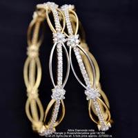 Diamond Bangles(ATBG-G1164)
