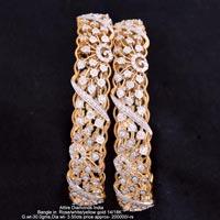 Diamond Bangles(ATBG-GH145)