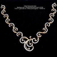 Diamond Necklace Sets(ATNKS-C74)