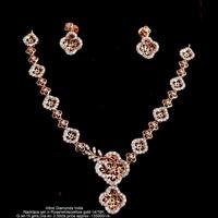 Diamond Necklace Sets(ATNKS-CD43)