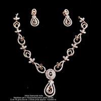 Diamond Necklace Sets(ATNKS-CD44)