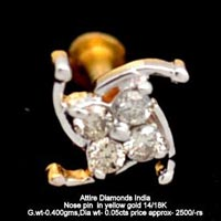 Diamond Nose Pins(ATNP-177)