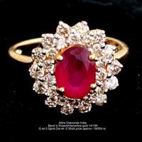Ladies Colored Diamond Rings(ATLR-AR02)