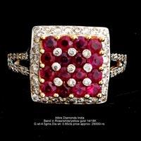 Ladies Colored Diamond Rings(ATLR-AR05)