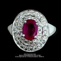 Ladies Colored Diamond Rings(ATLR-AR40)