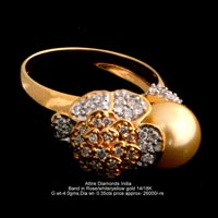Ladies Designer Diamond Rings(ATLR-TP487)