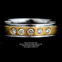 Ladies Diamond Bands(ATLR-N22)