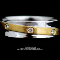 Ladies Diamond Bands(ATLR-N29)