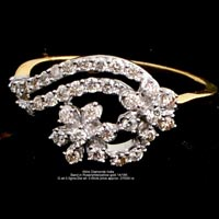 Ladies Light Weight Diamond Rings(ATLR-MJ09)