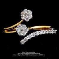 Ladies Light Weight Diamond Rings(ATLR-TP171)