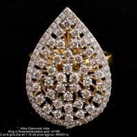 Ladies Traditional Diamond Rings(ATLR-N202)