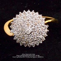 Ladies Traditional Diamond Rings(ATLR-TP601)