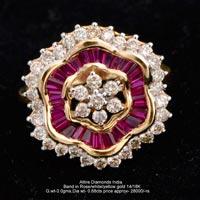 Ladies Traditional Diamond Rings(ATLR-N229)