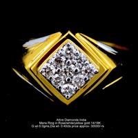 Mens Diamond Rings(ATGR-AM15)