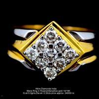 Mens Diamond Rings(ATGR-AM16)