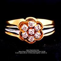 Mens Diamond Rings(ATGR-AM20)