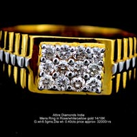 Mens Diamond Rings(ATGR-AM21)