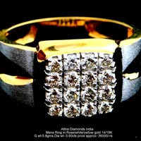 Mens Diamond Rings(ATGR-CD10)