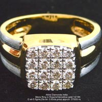 Mens Diamond Rings(ATGR-CD11)