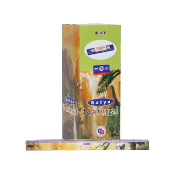 10 gm Satya Natural Sweet Earthy Incense Sticks