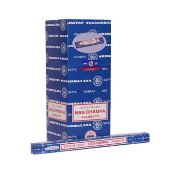 10 gm Satya Sai Baba Nag Champa Incense Sticks