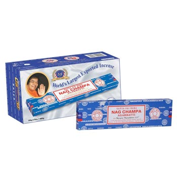 100gm Satya Sai Baba Nag Champa Incense Sticks