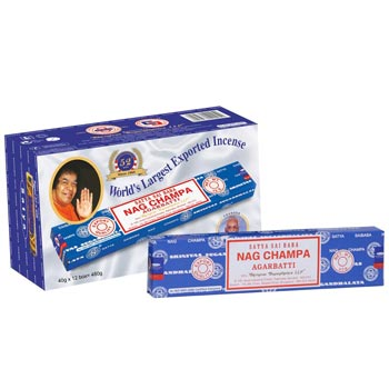 40gm Satya Sai Baba Nag Champa Incense Sticks
