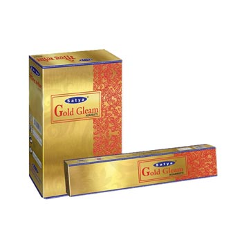 Satya Gold Gleam Incense Sticks