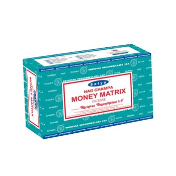 Satya Nag Champa Money Matrix Incense Sticks