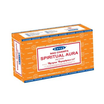Satya Nag Champa Spiritual Aura Incense Sticks