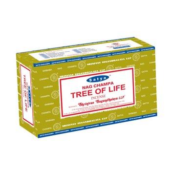 Satya Nag Champa Tree Of Life Incense Sticks