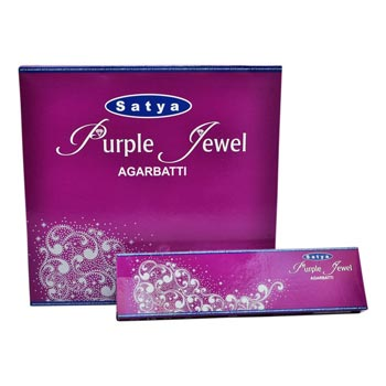 Satya Purple Jewel Incense