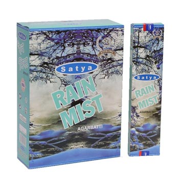 Satya Rain Mist Incense Sticks
