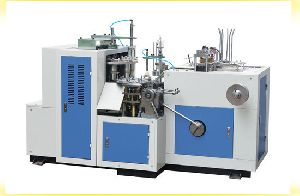 FULLY AUTOMATIC PLASTIC GLASS MACHINE