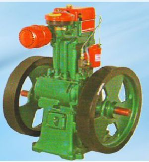 Lister Type Diesel Engine Pumpset