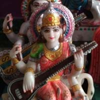 Saraswati Mata Statue 01