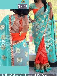 Georgette Saree 37