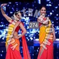 Madhuri Rainbow Saree